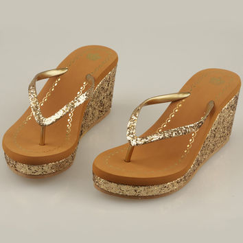 Trendsetter Steve Madden Crown Fashion Women Platform Sandal Slipper Shoes
