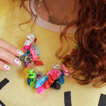 XL Barbie shoe necklace - PIXIE and PIXIER