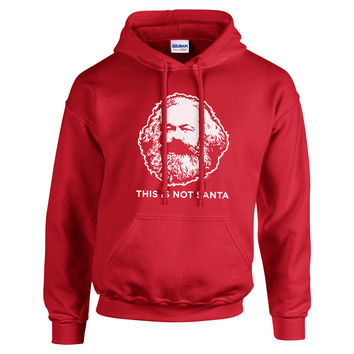 This Is Not Santa Hoodie Sweatshirt