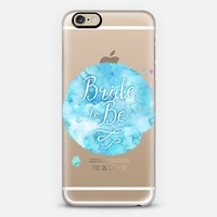 Bride-to-be iPhone 6s case by Noonday Design | Casetify