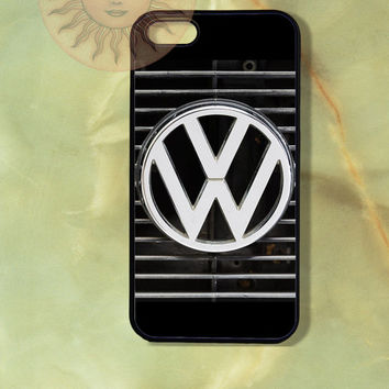 VW Volkswagen -iPhone 5 case, iphone 4s case, iphone 4 case, Samsung GS3 case-Silicone Rubber or Hard Plastic Case, Phone cove