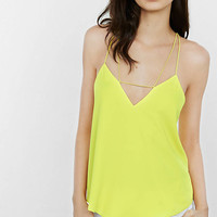 Yellow Strappy Tie-back Cami from EXPRESS