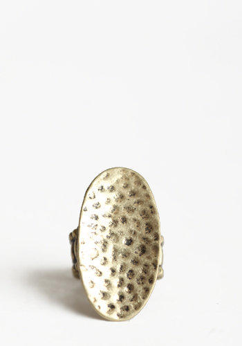 Gold Lining Ring - $4.99 : ThreadSence.com, Free-spirited fashion for the indie-inspired lifestyle