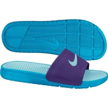 ... biggest discount 4282c def88 Nike Womens Benassi Solarsoft Slide ... 0bb65722d3