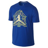 Nike Jordan Crescent City Jumpman Men's T-Shirt - Game Royal
