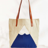 Poler Canvas Mountain Tote - Urban Outfitters