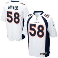 Mens Denver Broncos Von Miller Nike White Game Jersey