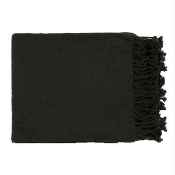Throw Blanket - Jet Black