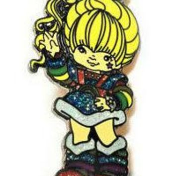 Rainbow Brite Retro Enamel Pin