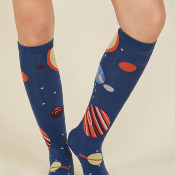 Planet of Action Socks | Mod Retro Vintage Socks | ModCloth.com