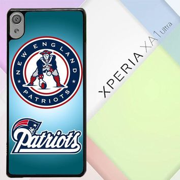 New England Patriots Logo E0788 Sony Xperia XA1 Ultra Case