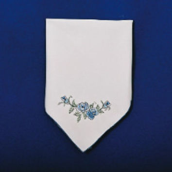Lace Table Linen Blue Rose Napkin