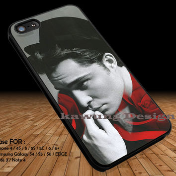 Hot Chuck Bass Model Shot iPhone 6s 6 6s+ 5c 5s Cases Samsung Galaxy s5 s6 Edge+ NOTE 5 4 3 #movie #GossipGirl DOP2260