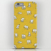 indian baby elephants iPhone & iPod Case by Estelle F