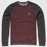 Element Meridian Mens Sweatshirt Wine  In Sizes