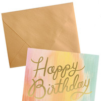 Sorbet Birthday Card Set