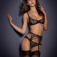 Sale Lingerie by Agent Provocateur - Bobbie Suspender