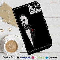 The Godfather 1 Leather Wallet iPhone 4/4S 5S/C 6/6S Plus 7| Samsung Galaxy S4 S5 S6 S7 NOTE 3 4 5| LG G2 G3 G4| MOTOROLA MOTO X X2 NEXUS 6| SONY Z3 Z4 MINI| HTC ONE X M7 M8 M9 CASE