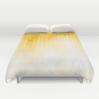 Yellow Duvet Cover by Ornaart