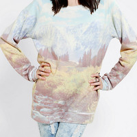 Urban Outfitters - BDG Nature Pullover Sweatshirt