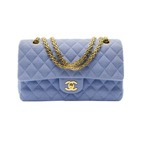 Chanel Jersey Knit Double Flap