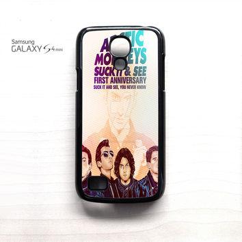 Arctic Monkey Suck it and See for Samsung Galaxy Mini S3/S4/S5 phone case