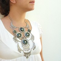 The Warrior Princess Necklace  Big Statement by StaroftheEast