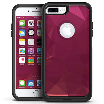Pink Geometric V16 - iPhone 7 or 7 Plus Commuter Case Skin Kit