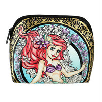 Disney The Little Mermaid Stained Glass Cosmetic Bag