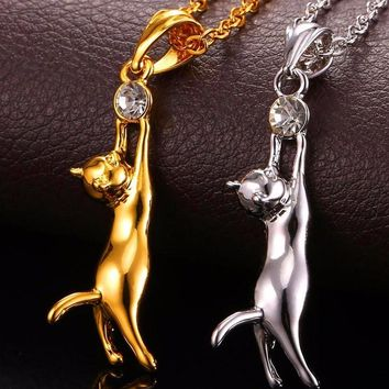 Cat Necklace Jewelry-Stylish and Sexy for Women Cat Lovers