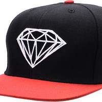 Diamond Supply Brilliant Black & Red Snapback Hat at Zumiez : PDP