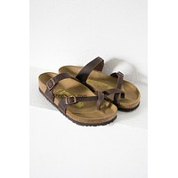 Mayari Soft Oiled Birkenstocks | Brown