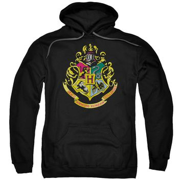 Harry Potter - Hogwarts Crest Adult Pull Over Hoodie