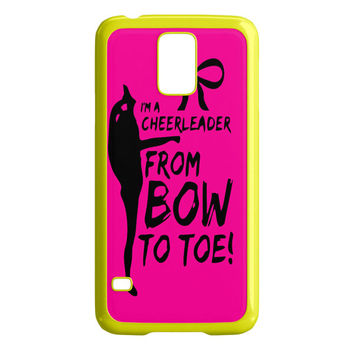 Cheers Cheerleader Bow To Toe Samsung Galaxy S5 Case