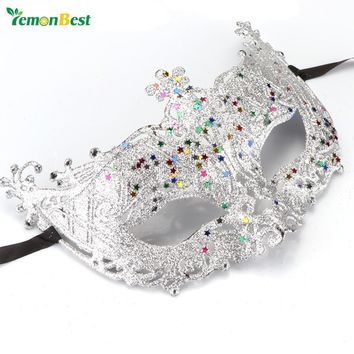 LemonBest Halloween Venetian Mask Sexy Women Eye Masquerade Masks for Carnival Halloween Costume Party hellouin Ball Mascaras