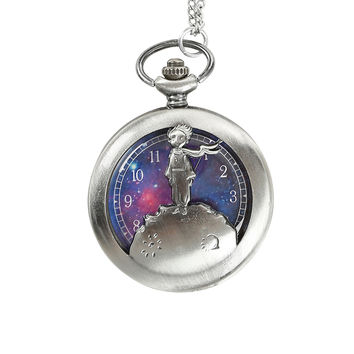 The Little Prince Pocket Watch Necklace