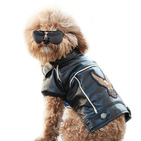Motorcycle jacket for dogs