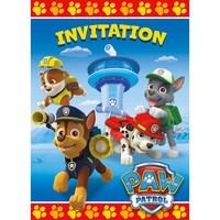 Paw Patrol - Invitations