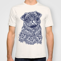 MANDALA OF PUG T-shirt by Huebucket