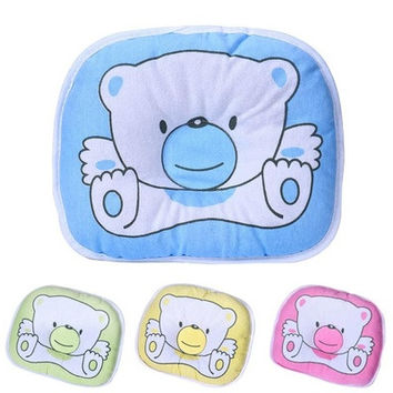 Newborn Baby Soft Infant Support Head Home&Living Flat Sleeping Cushion Pillow♥Baby [8322969345]