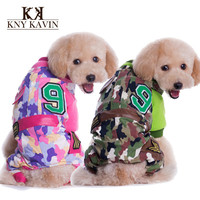 2014 Winter Dog Clothes Brand Camouflage Thicken Clothing For Dogs Warm Down Coats Pets Products Fashion Camouflage Cloth HP245