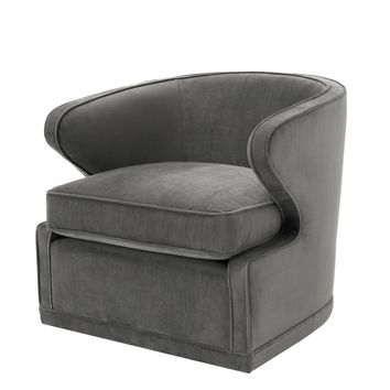 Grey Lounge Chair | Eichholtz Dorset