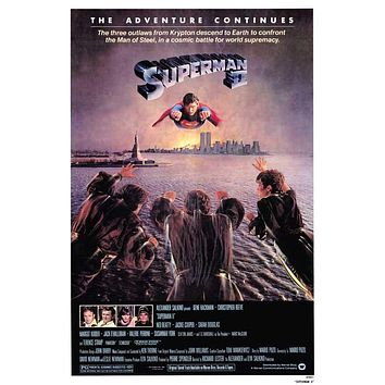 Superman 2 27x40 Movie Poster (1981)