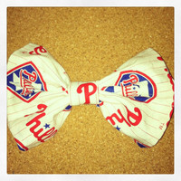 Phillies Hair Bow
