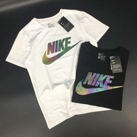 Nike Women Reflective Logo Top T-shirt