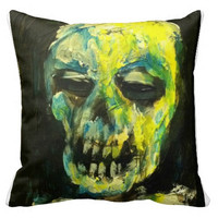 Throw Pillow with Art by Jack Larson