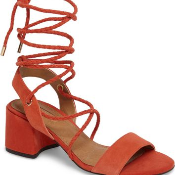 Topshop Nevada Lace-Up Sandal (Women) | Nordstrom