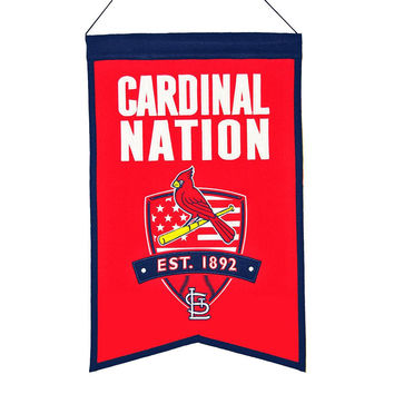 St. Louis Cardinals MLB Nations Banner (15x20)