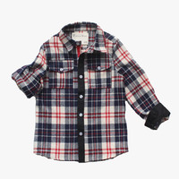 Vierra Rose Lenox Pocket Shirt in Plaid - FINAL SALE