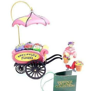 Department 56 Chelsea Market Flower Monger Cart